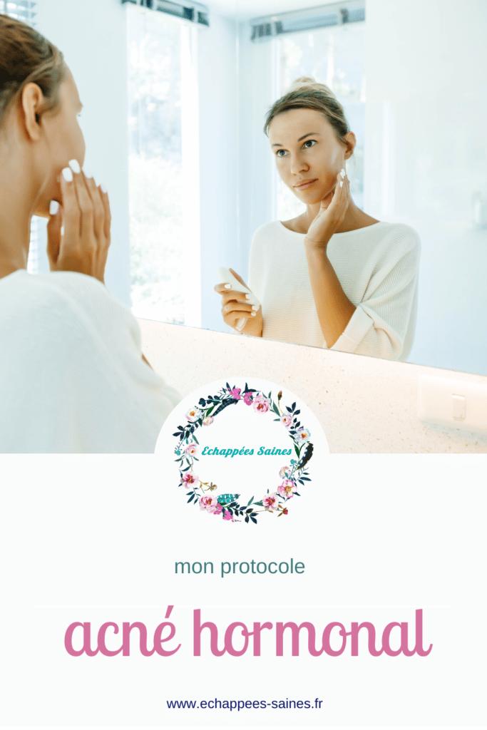 mon protocole pour lutter contre l'acné hormonal ortie perle aime skin care alimentation