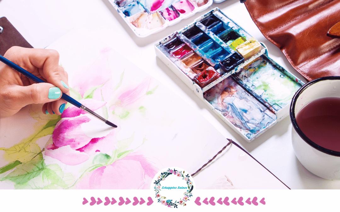 Lâcher prise et créativité avec le Art Journal